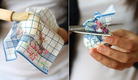 basteln für ostern mit kindern_coole ostereier mit papierservieten gestalten
