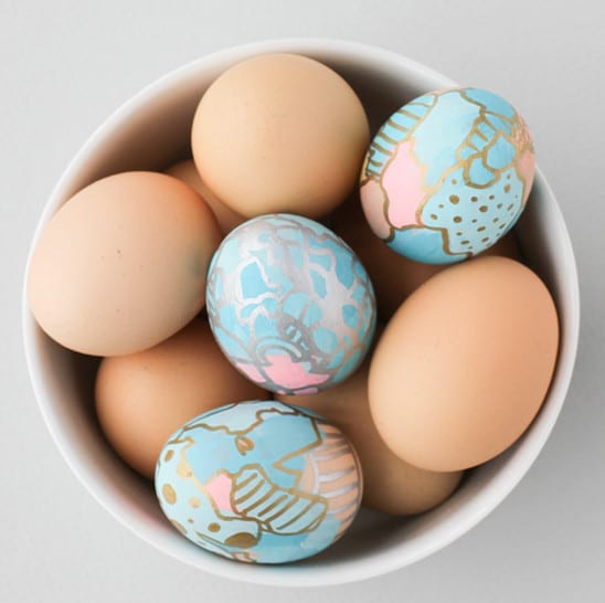 coole Ostereier zum Osterfest bemalen - fresHouse