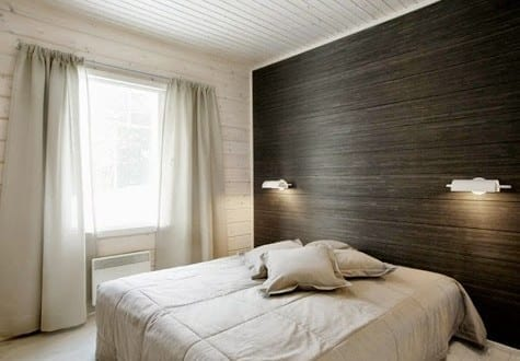 kleine schlafzimmer einrichten und gestalten mit akzentwand in ... - Schlafzimmer Decken Gestalten