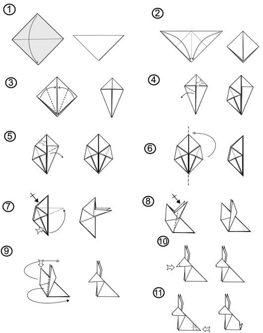 osterhase-basteln-als-origami-mit-anleitung_kreative-osterdeko-basteln-für-ostern