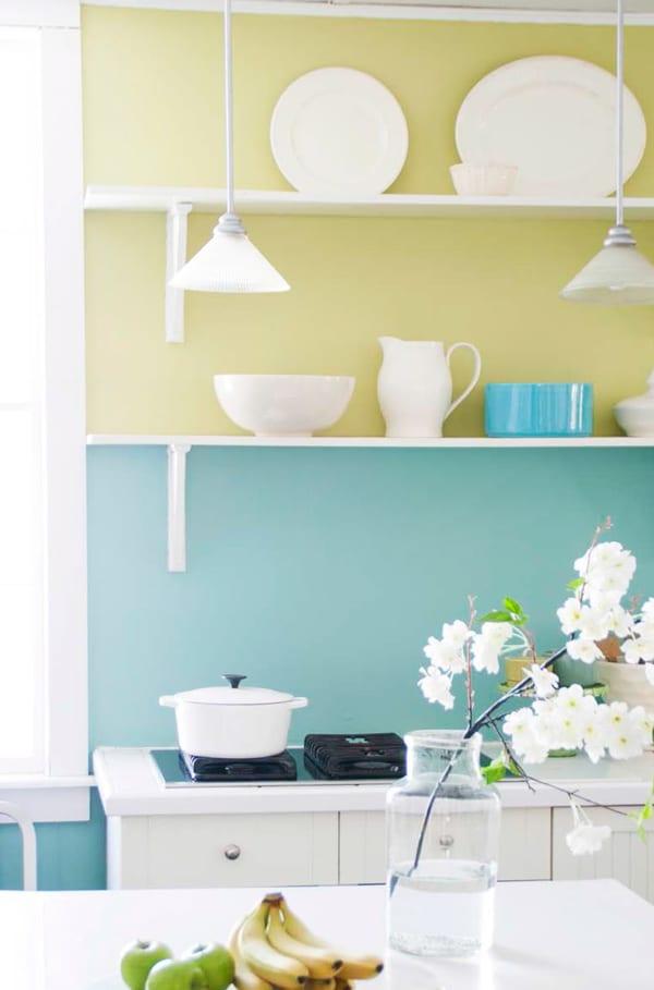 streichen tipps für farbige wände und streich ideen zum küche streichen