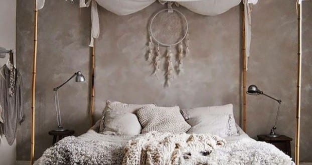 schlafzimmer ideen im boho stil kleines schlafzimmer. Black Bedroom Furniture Sets. Home Design Ideas