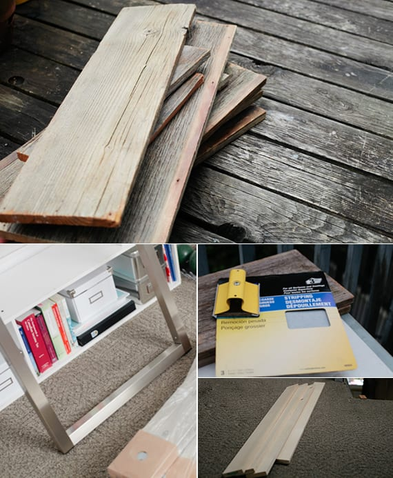 schreibtisch-selber-bauen-mit-tischplatte-aus-brettern-und-tischgestell-aus-metall