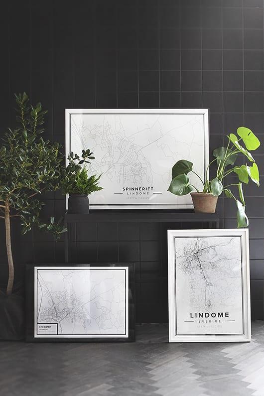 kreative wandgestaltung mit schwarzen wandfliesen
