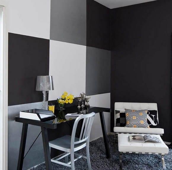 schwarze w228nde 48 wohnideen f252r moderne raumgestaltung