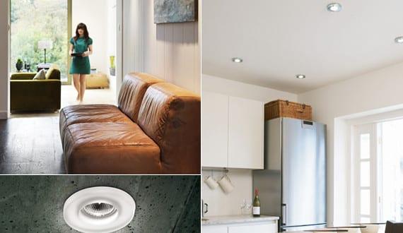 beleuchtungsideen und lichtkonzept mit led einbauleuchten f r decken freshouse. Black Bedroom Furniture Sets. Home Design Ideas