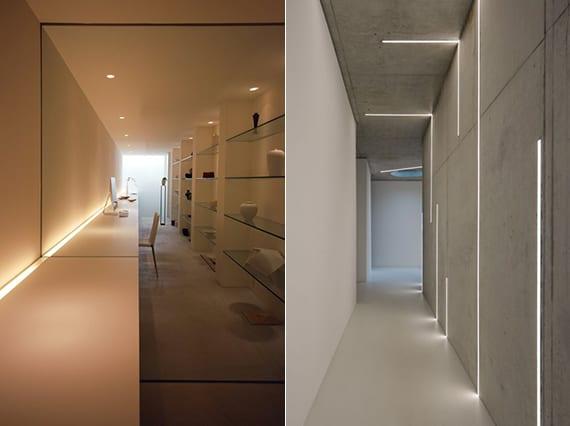 beleuchtungsideen und das richtige lichtkonzept mit led einbauleuchten freshouse. Black Bedroom Furniture Sets. Home Design Ideas