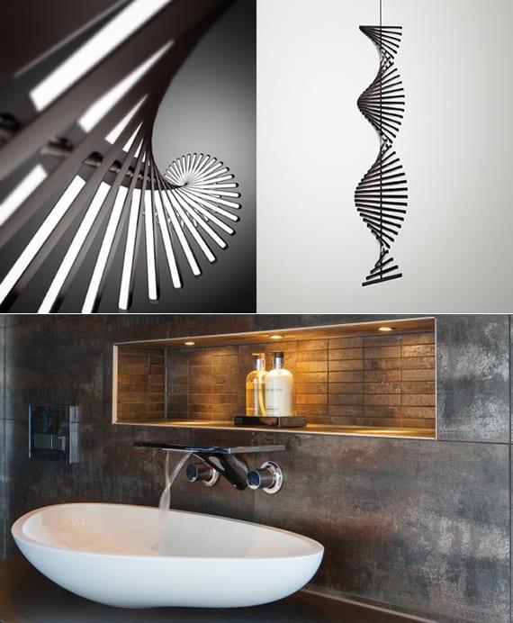 lichtkonzept für licht und wohnen mit modernen einbauleuchten und pendelleuchten_coole beleuchtungsideen mit LED