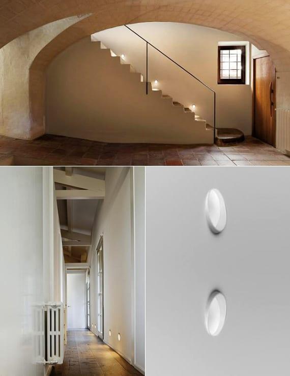 modernes lichtkonzept für licht und wohnen und beleuchtungsideen mit led treppenleuchten