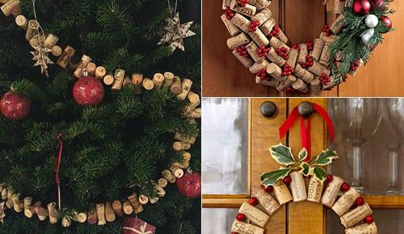 basteln mit korken kreative und einfache bastelideen f r diy weihnachtsdeko aus korken freshouse. Black Bedroom Furniture Sets. Home Design Ideas