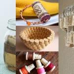 kork zum basteln_interessante ideen für DIY Kork deko und einfache bastelideen mit flaschenkorken