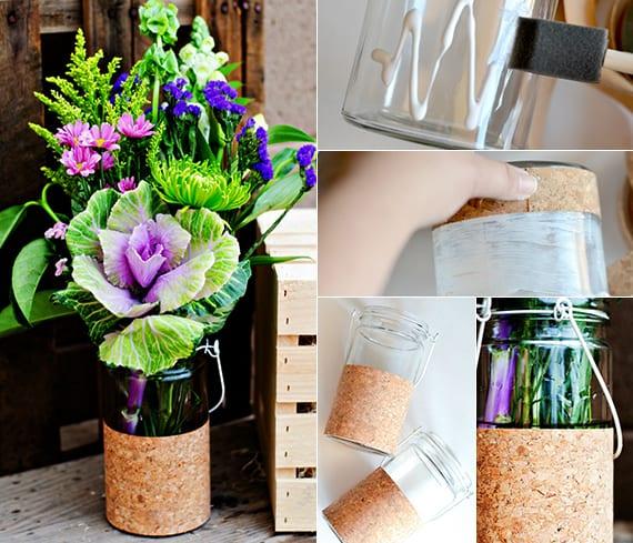 Frühlings Basteln Ideen Und Kreatives Bastelb Von Blumenvasen