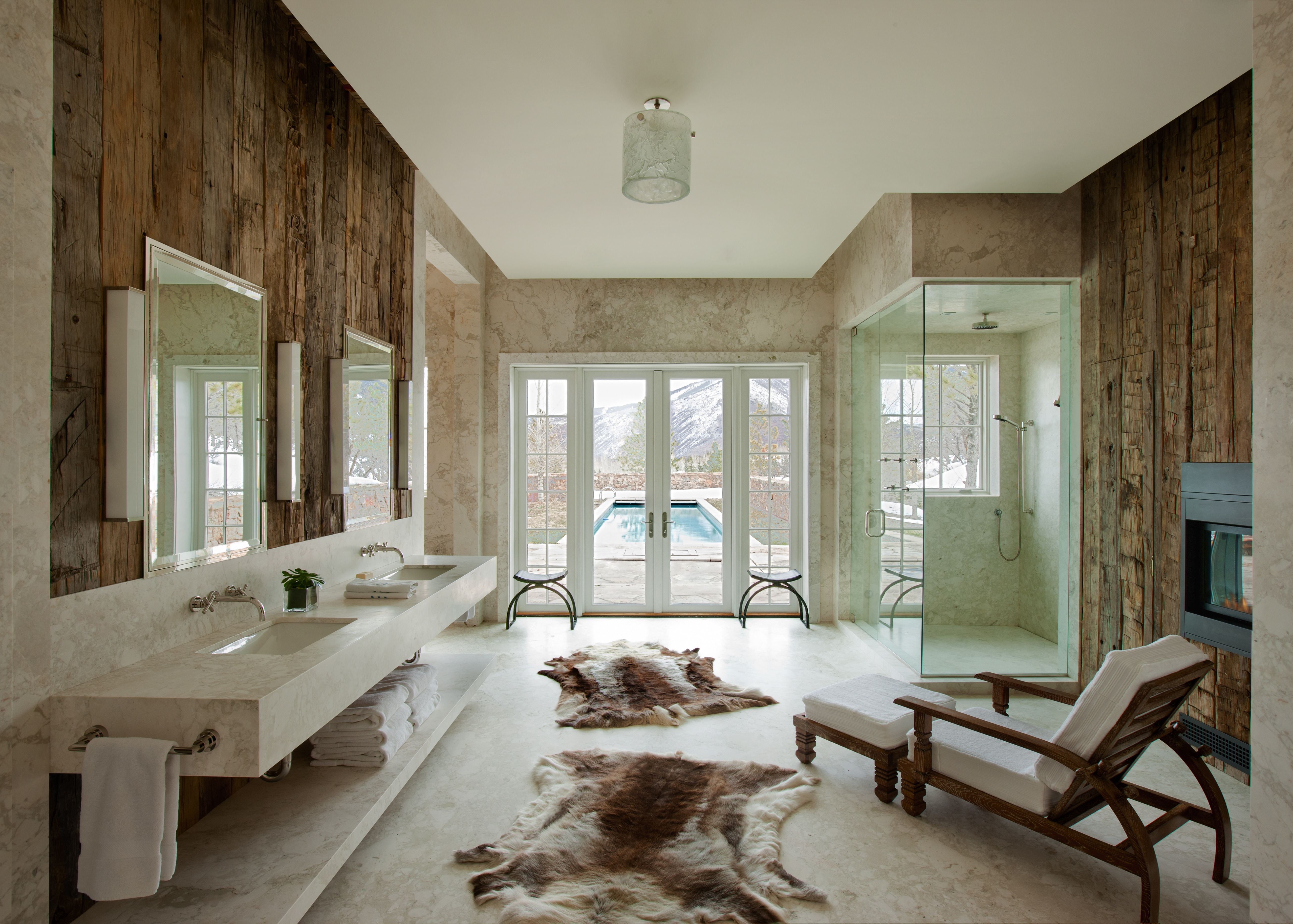 Interieur Rustic Moderne : Moderne badezimmer im vintage style freshouse