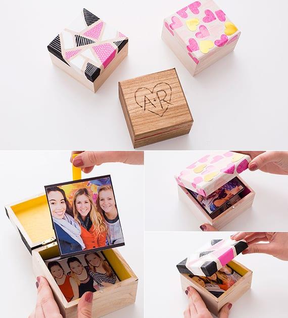 einfache bastelideen für selbstgemachte geschenke_kreative Geschenke für Männer und Frauen