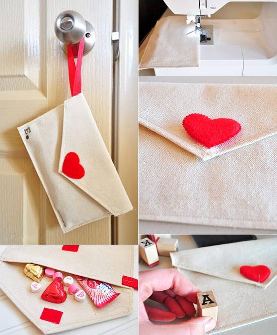 valentinstag geschenk basteln und in diy Brieftasche verstecken_coole valentinstag ideen