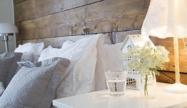 deko ideen für schlafzimmer weiß im vintage style
