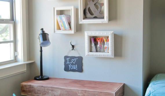 wand gestalten mit diy deko aus bilder rahmen freshouse. Black Bedroom Furniture Sets. Home Design Ideas