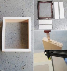 wand gestalten mit diy deko aus bilder rahmen einfache bastelideen f r wanddeko diy freshouse. Black Bedroom Furniture Sets. Home Design Ideas