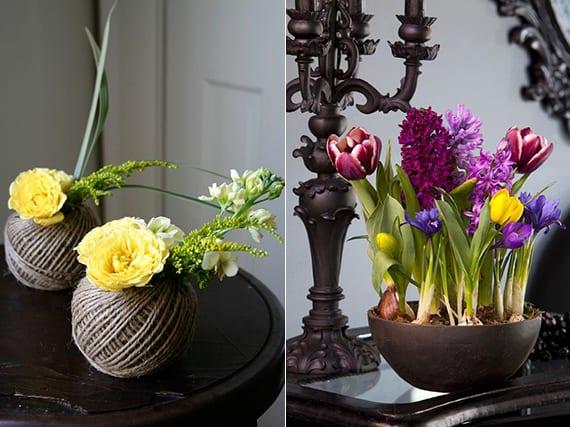 interieur beleben mit frischen frühlingsblumen_coole ideen für blumendeko im frühling
