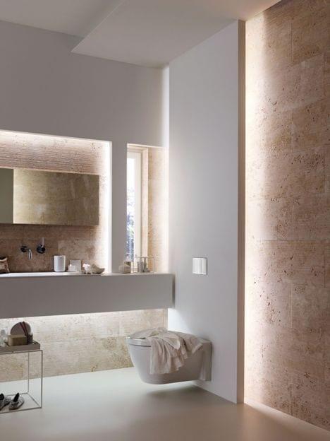 kreative lichtkonzepte und moderne badgestaltung