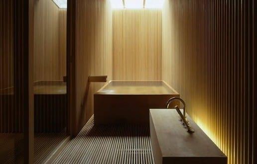 bad modern gestalten im japanischen stil mit holz und tageslicht freshouse. Black Bedroom Furniture Sets. Home Design Ideas