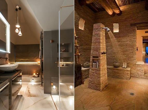 moderne badezimmer inspirationen und lichtkonzepte für angenehme beleuchtung durch einbauleichten