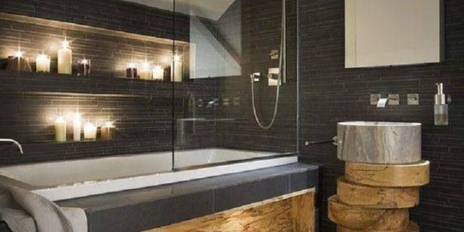 Bad modern gestalten mit wandnischen und eingebauten for Bad modern gestalten