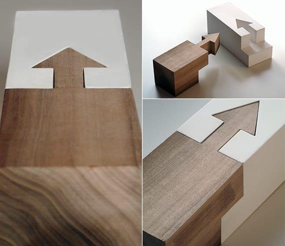designinspiration für moderne Details und Verbindungen aus holz und kunststoff