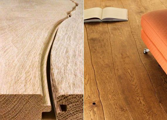 designinspiration für moderne raumgestaltung mit rustikalen Holzdielen