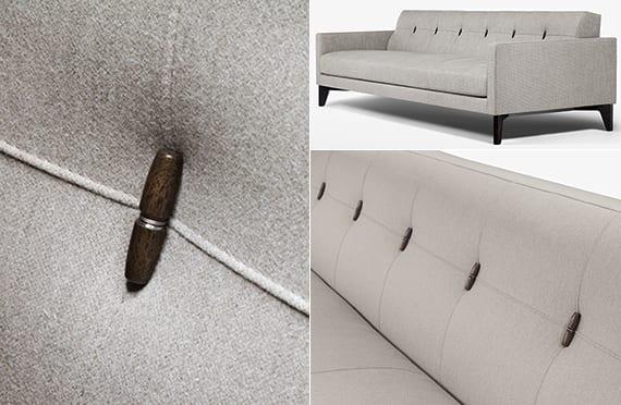 designinspiration für moderne seats und soafas_Designer Polstersofa grau