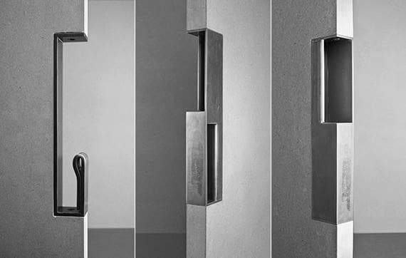 kreative Türgriffe aus metall für schiebetüre