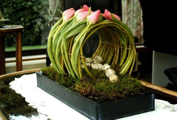 frühlingsblumen für besondere tischdeko im frühling