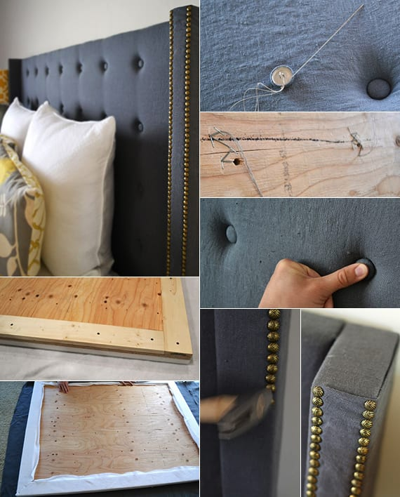 Machen Sie Selber Einen Modernen Bett Kopfteil Gepolstert