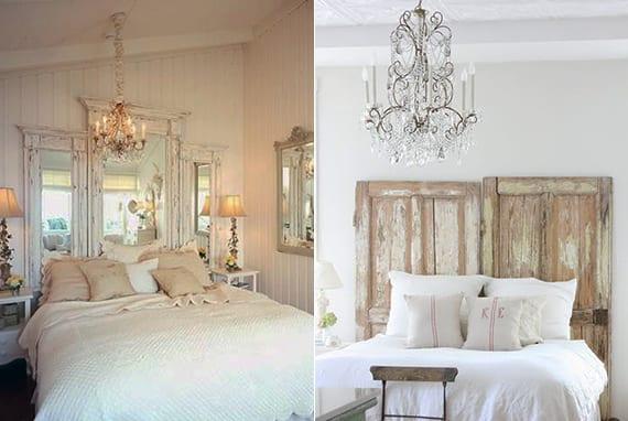 cooles schlafzimmer design und kreative schlafzimmer ideen in shabby chic style