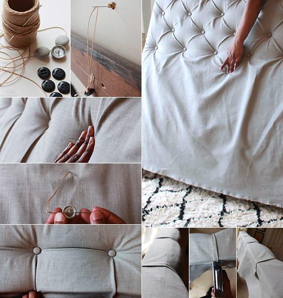 50 Schlafzimmer Ideen für Bett Kopfteil selber machen - fresHouse