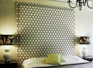 schlafzimmer ideen f r bett kopfteil selber machen diy. Black Bedroom Furniture Sets. Home Design Ideas