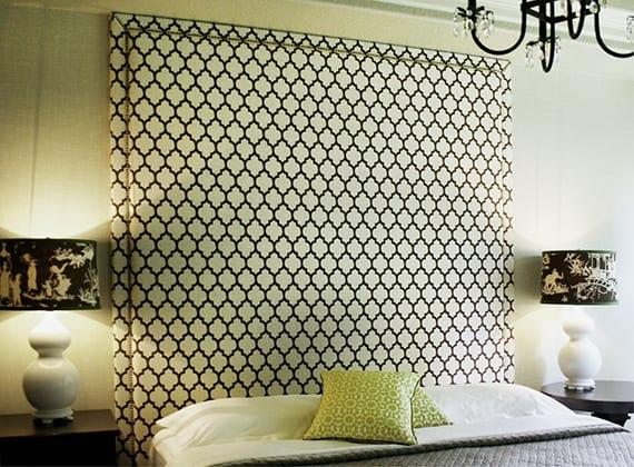 Bett Dekorieren mit nett stil für ihr wohnideen