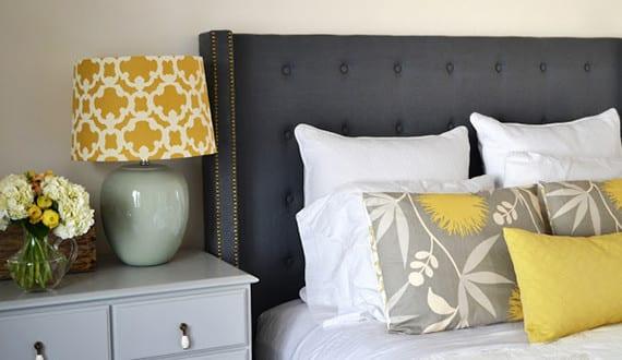 schlafzimmer ideen wie sie bett kopfteil selber machen. Black Bedroom Furniture Sets. Home Design Ideas