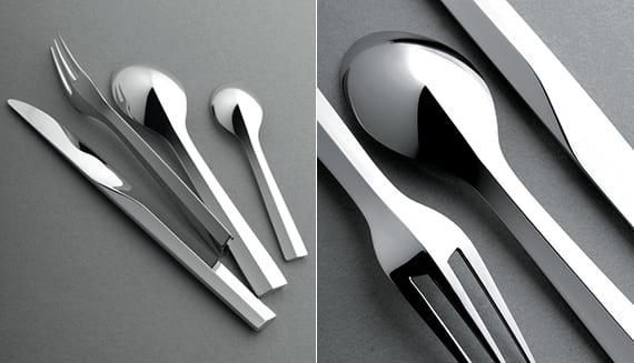 tisch kreativ und richtig decken mit modernem besteck_besteck mit design für stilvolle tischdeko