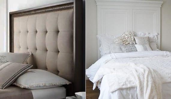 tolle-schlafzimmer-ideen-für-bett-kopfteil-selber-machen - freshouse - Schlafzimmer Ideen Zum Selber Machen