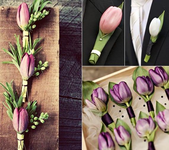 hochzeit blumenschmuck ideen mit tulpen