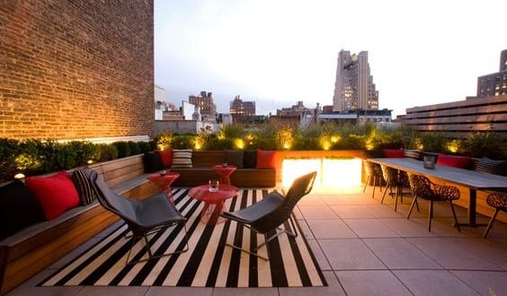 50 coole Ideen für Rooftop Terrassengestaltung