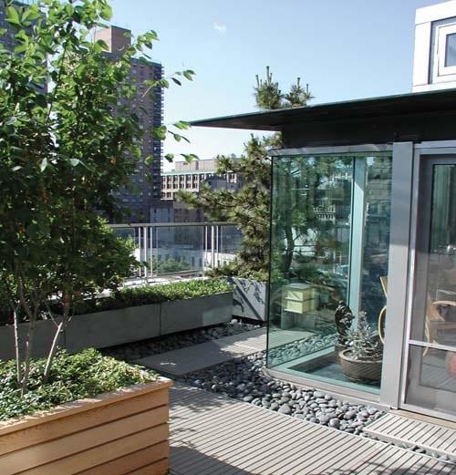 bilder und ideen für roof top gestaltung und dachgarten