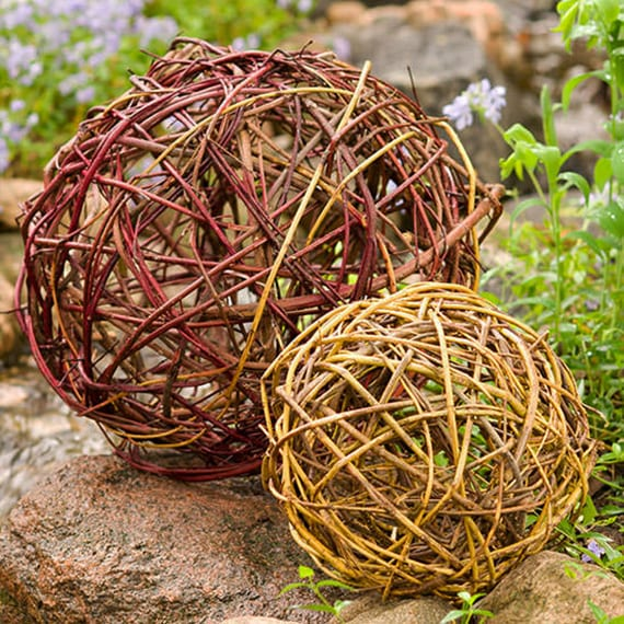 gartendeko selber machen: diy gartenkugeln - freshouse, Garten ideen