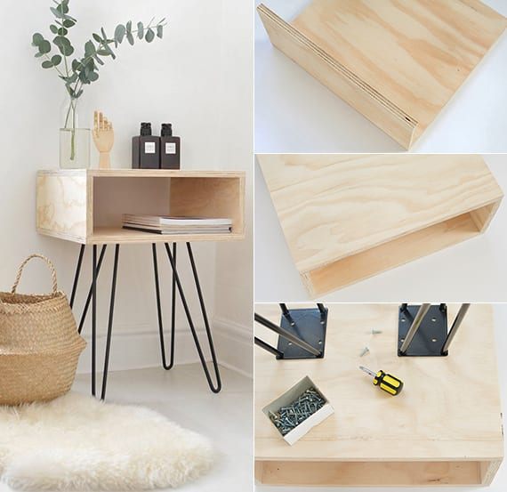 Do it yourself deko in schwarz wei und holz dekoideen for Holz deko kinderzimmer