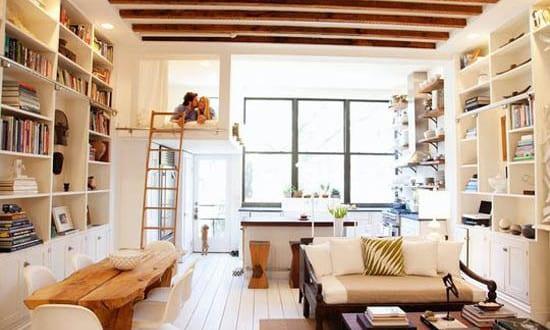 kleine wohnung einrichten mit hochbett für erwachsene - fresHouse