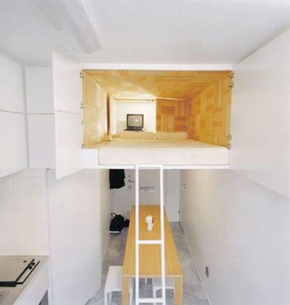 Bekannt Die kleine Wohnung einrichten mit Hochhbett - fresHouse QW58