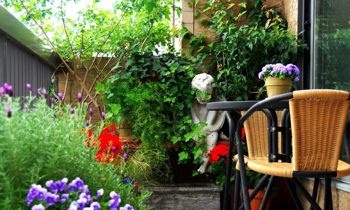 balkon gestaltungsideen_urban garden balcony