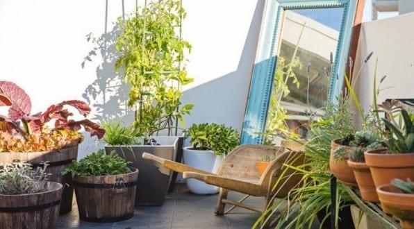 urban garden ideen f r eigenen garten in der stadt freshouse. Black Bedroom Furniture Sets. Home Design Ideas
