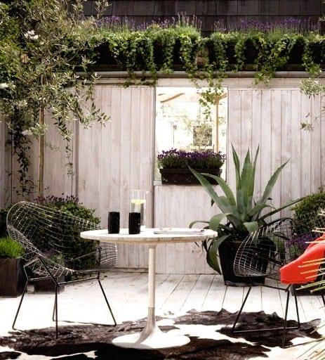 urban garden ideen für gestaltung kleiner oase im hinterhof